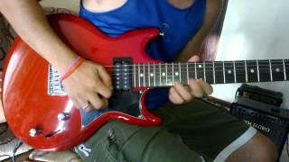 testando guitarra ibanez gax30