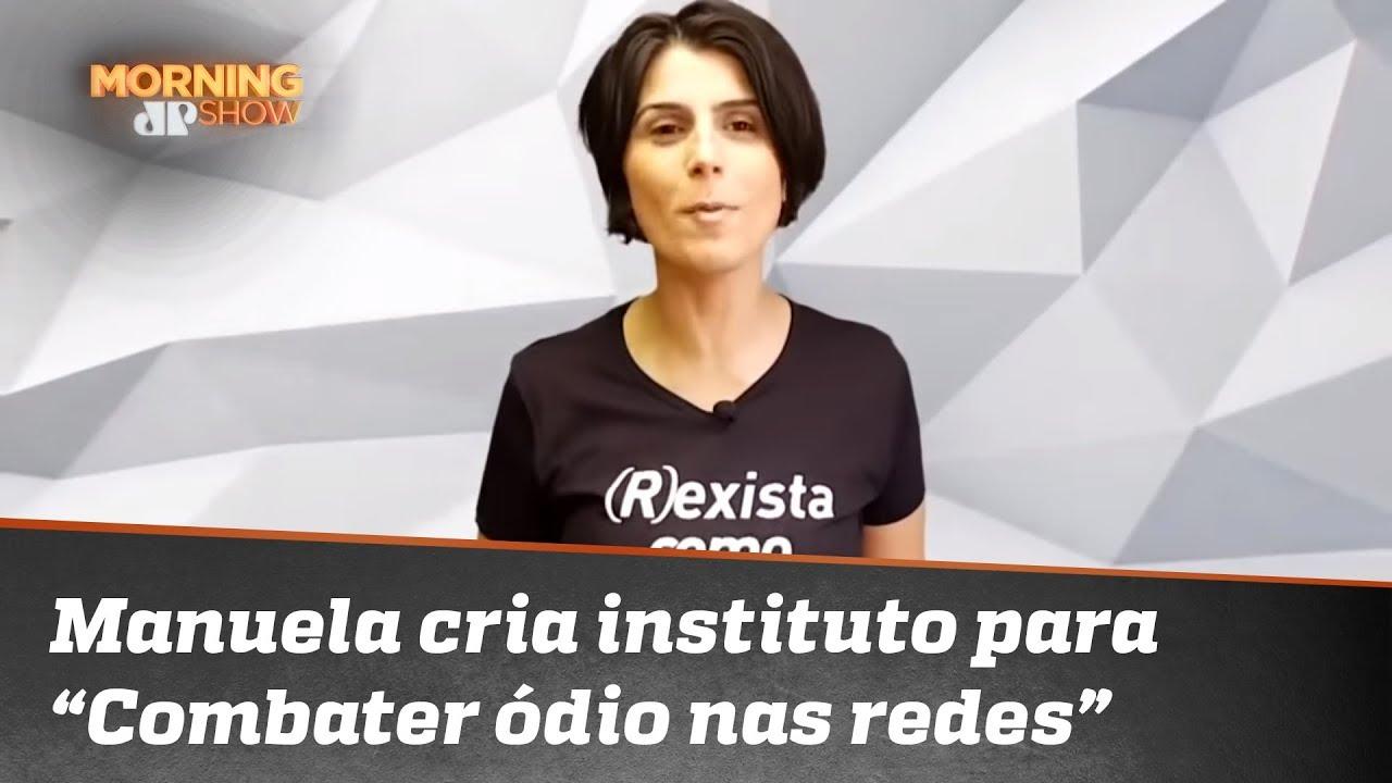 89dae4f28b Manuela D Ávila cria instituto e aposta em venda de camisetas. Caio vê   evolução capitalista