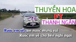 Thuyền Hoa Karaoke Song ca cùng Thanh Ngân mời nam Feat cùng