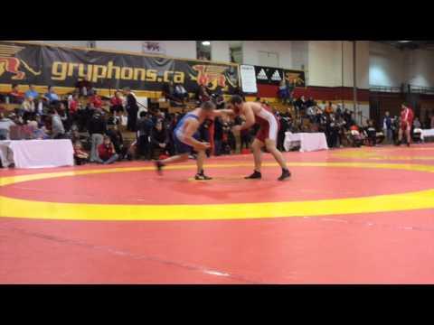 2015 Guelph Open: 86 kg Final Jordie Steen vs. Matt Miller