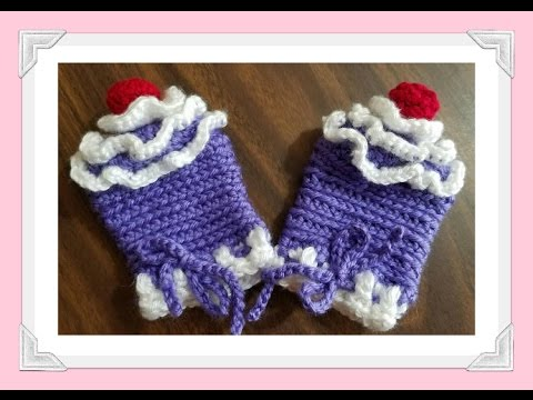 Free Crochet Patty Cakes Babys First Mittens Pattern Youtube