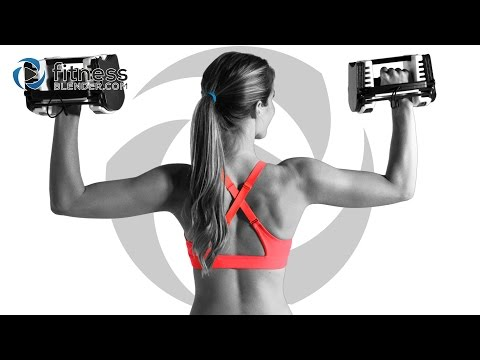 Brutal Fat Burning Cardio HIIT + Dynamic Total Body Strength Training FB Blend