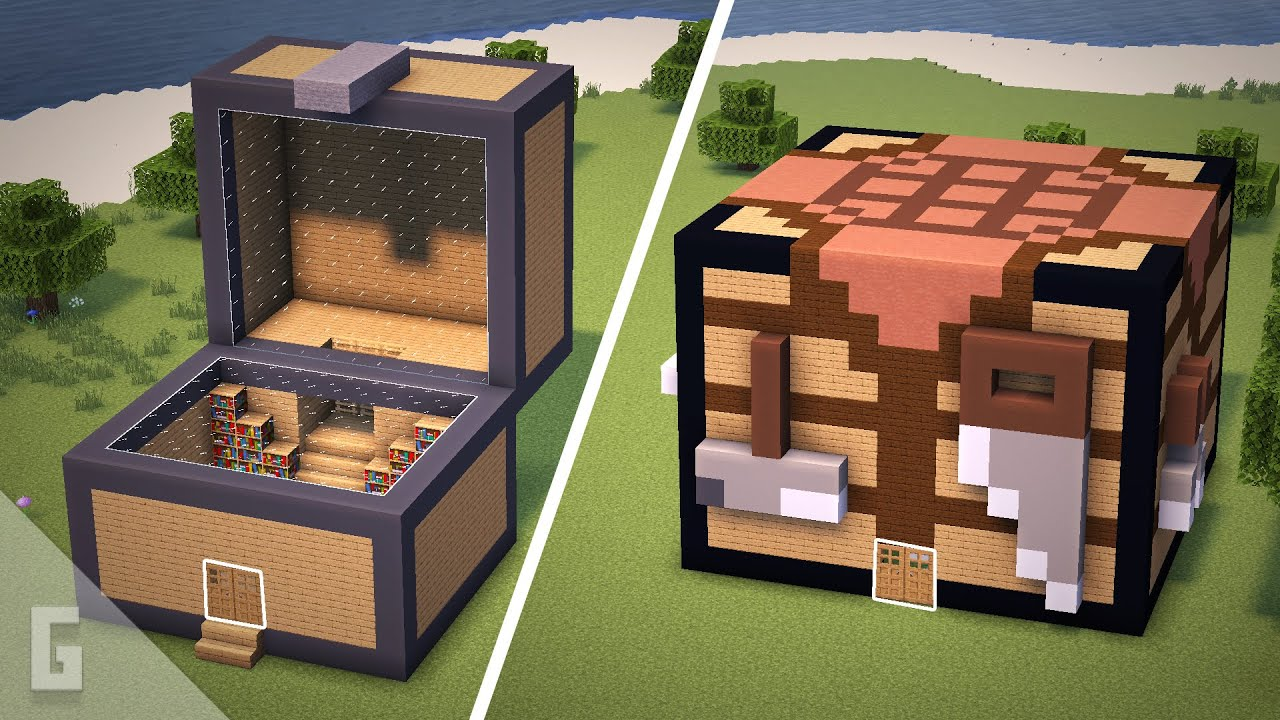 Super UNIQUE Minecraft House Ideas!