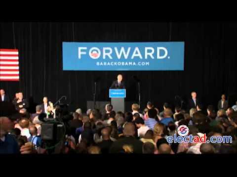 Joe Biden campaign event in Dayton, Ohio - September 12 2012
