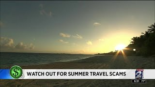 Consumer Headlines: Warning about summer travel scams