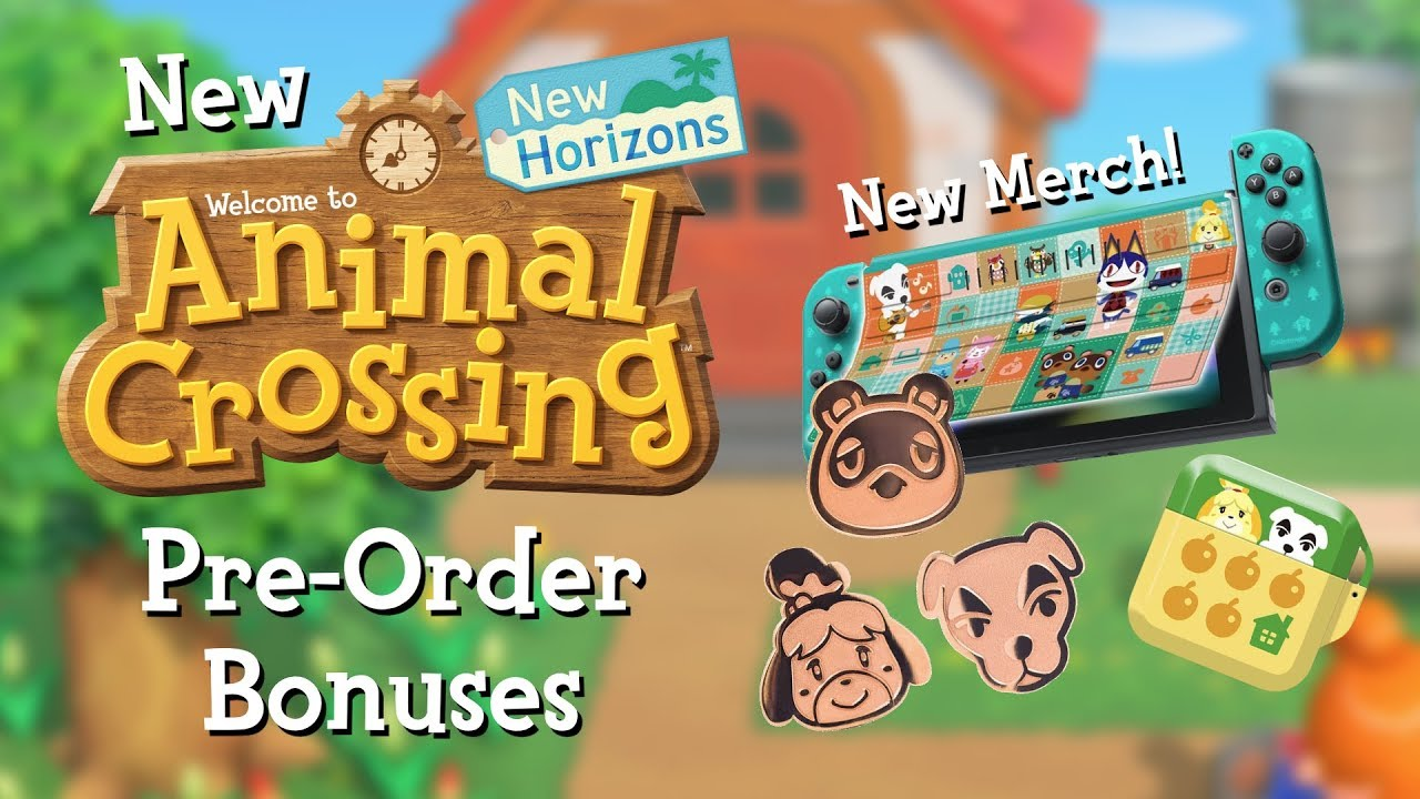 animal crossing new horizons pre order