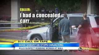 Carjacking Suspect Shot by Good Samaritan