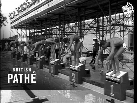 National Swimming Championships In Chicago (1963)
