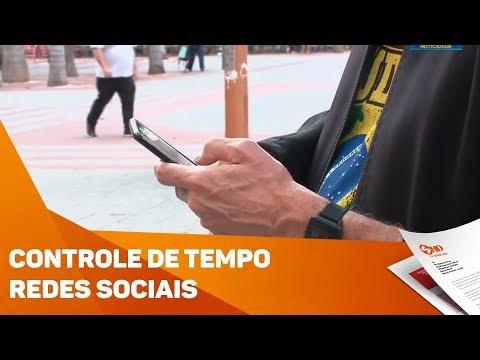 Usuários podem controlar o tempo nas redes sociais - TV SOROCABA/SBT