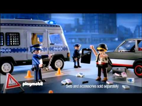 new playmobil police van jadlam racing models
