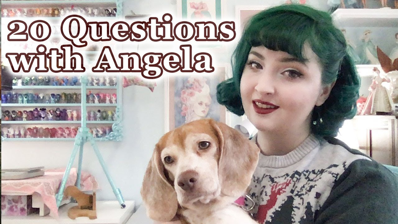 20 Questions with... Angela Clayton of Angela Costumery  || Ice Breaker Questions with Costumers