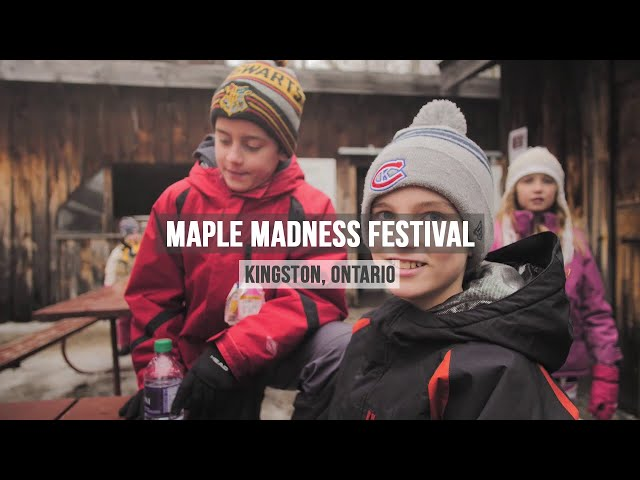 Maple Madness Festival in Kingston, Ontario