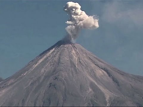 'Fire Volcano' in Mexico Spews Ash and Smoke