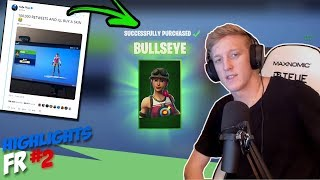 TFUE BUYS A SKIN?! 😲TEEQZY THAT 1vs2 MICKA AND ADZ! Fortnite FRANCE BEST OF #2