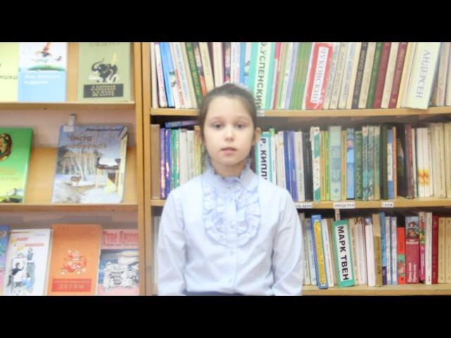 Изображение предпросмотра прочтения – ЕлизаветаСеребрянникова читает произведение «Стрекоза и Муравей» И.А.Крылова