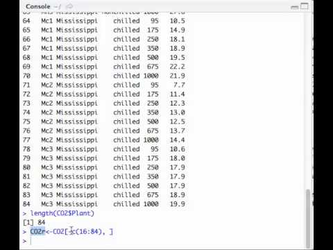 Como eliminar datos de un data.frame (matriz de datos) en Rstudio