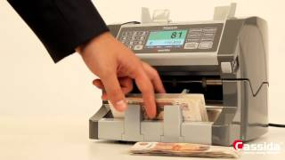 Счетчик банкнот Cassida Titanium(, 2014-12-09T13:48:58.000Z)