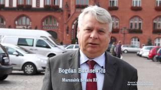Prezydent Konwiński - Marszałek Senatu RP Borusewicz popiera Zbigniewa Konwińskiego