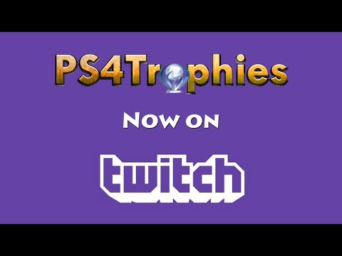 PS4Trophies Now Available on Twitch