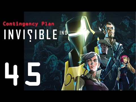 Invisible Inc. Contingency Plan 45 - My 1st difficulty 20 level!