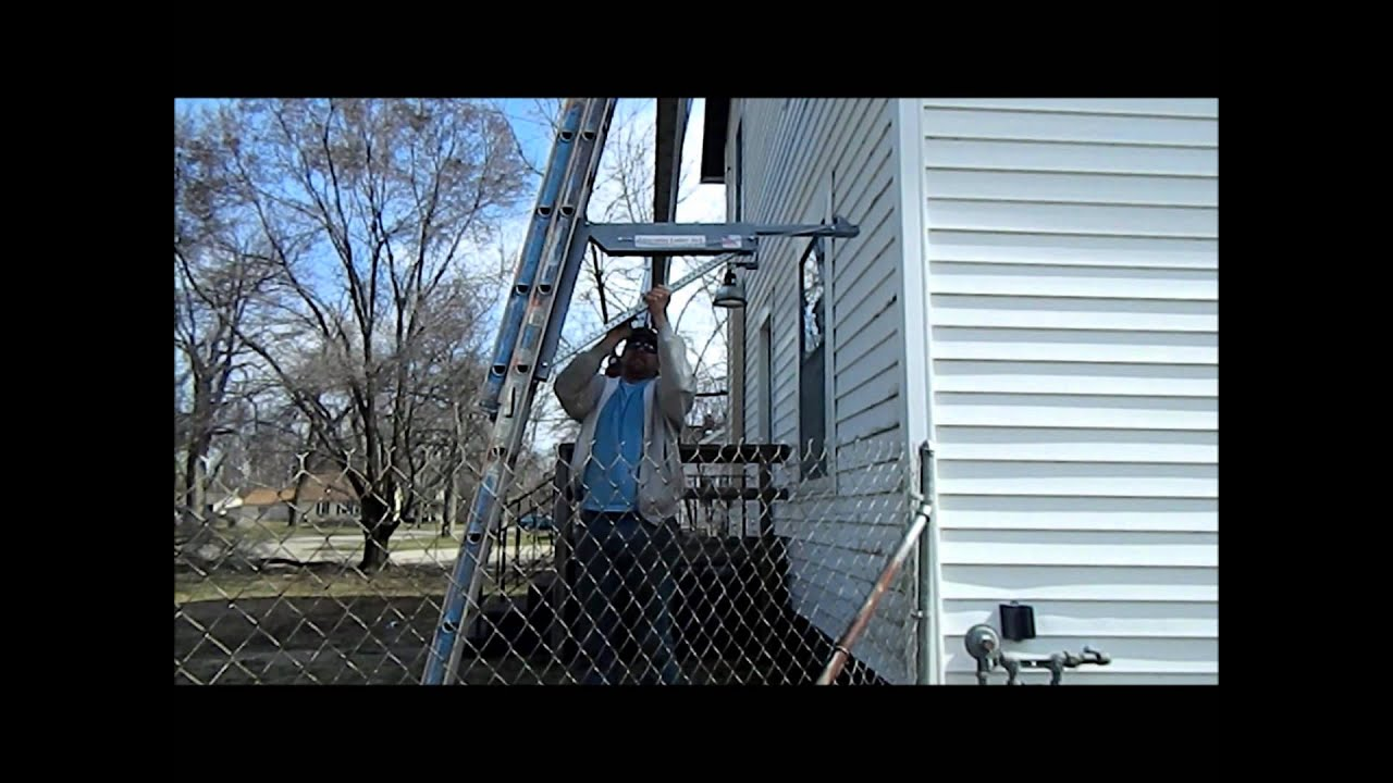 Telescoping Ladder Jack_1wmv  YouTube