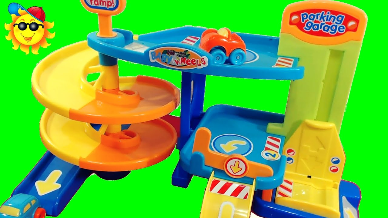 Disneypixarcars auto parking garage playset   carros para niños ...