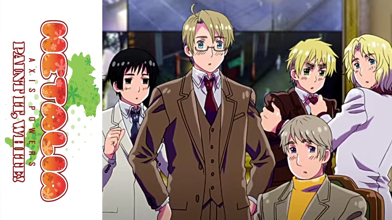 hetalia paint it white movie official otakon 2011 clip youtube