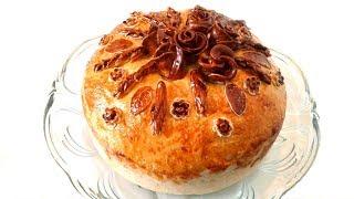 Домашний Хлеб Нарядный Каравай