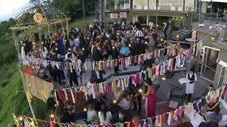 Video aéreo de una boda en Punta del Este, Uruguay Desde Lo Alto
