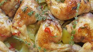 Pollo asado, esta es la receta que estabas buscando ¡Fácil y muy rica!