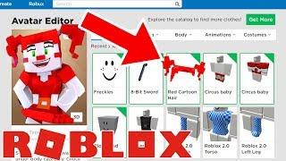 Robux Giveaway 9/12! MINECRAFT FNAF CIRCUS BABY CHALLENGE! Roblox Minecraft Challenge!