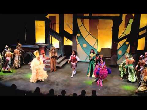 The Wiz Arkansas Rep Curtain Call by James Harkness