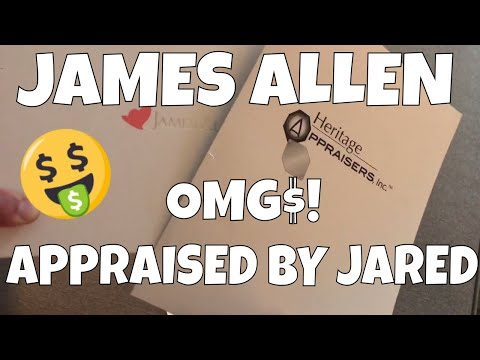 James Allen Engagement Ring Review Appraised by JARED