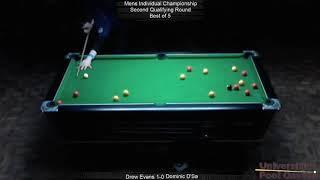BUCS 8-Ball 19/20: Men's Individual Championship - Drew Evans vs Dominic D'Sa