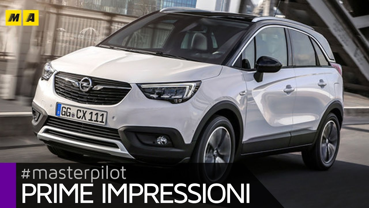 opel crossland x 2017 la nuova meriva primo test youtube. Black Bedroom Furniture Sets. Home Design Ideas