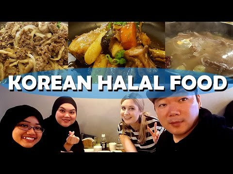 HALAL KOREAN FOOD