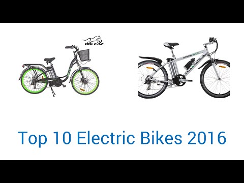 10 Best Electric Bikes 2016
