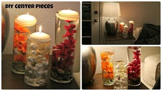 DIY Vase Centerpieces - Laxmi Jakkal - Easy Affordable options