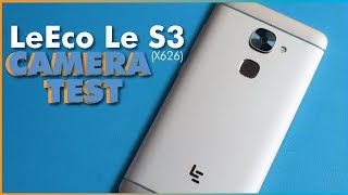 LeEco Le S3 x626 with 21mp rear  & 8mp front Camera Test + Slo Mo test