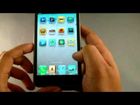 Turn Android Phone Into An iPhone Using Espier