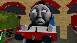 Thomas y el ferrocarril mágico Tidmouth Derrama escena (con Edward) Roblox