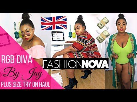 FASHION NOVA CURVE TRY ON HAUL | RGB DIVA by Jay