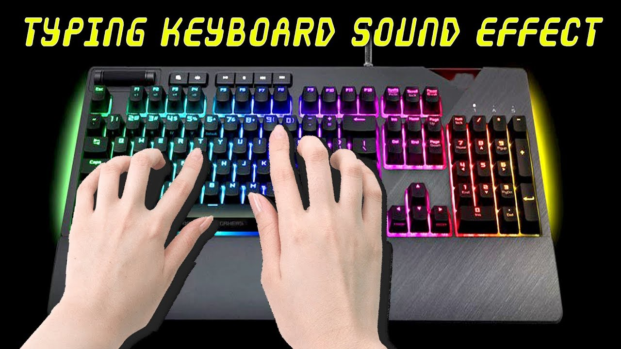 Typing Keyboard Sound Effect (Enhanced Sound 2019)►Free Sound  Effects►#mvstudio