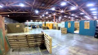 "CQB City's ""Retrieve the packages"" (KWA MP7) Trident POV gopro HERO2"