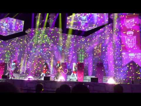 Monster High 12.04.2016 Leipzig Live Musical