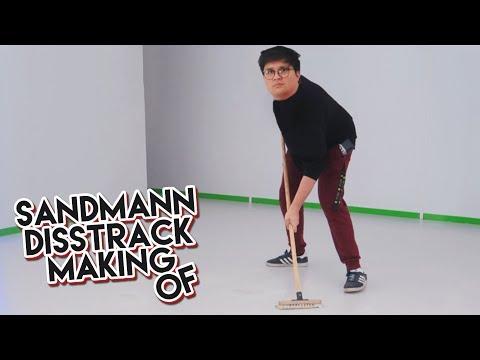 Vince putzt für den SANDMANN DISSTRACK