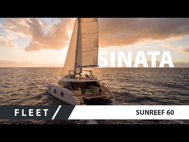Sunreef 60 Sinata - a stunning luxury sail catamaran