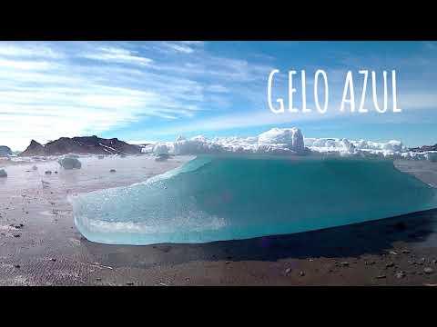 Tipos de gelo na Antártica
