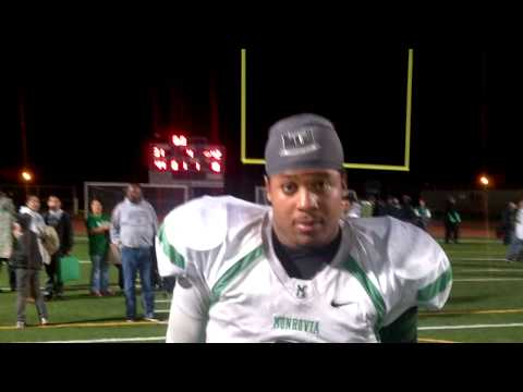 Monrovia Post-game George Frazier
