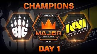 BIG vs NaVi - Nuke (FACEIT Major: London 2018)